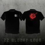 T-Shirt ZZ Bloody Logo