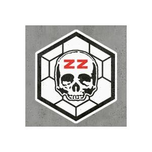 Naklejki - Cegiełki - ZZ Hexagon Logo