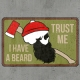 ZZ Beard Skull